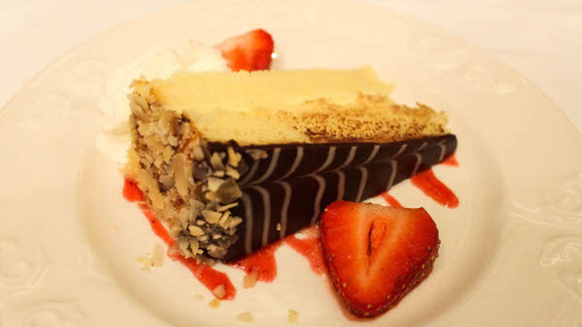 Boston Cream Pie at The Omni Parker House