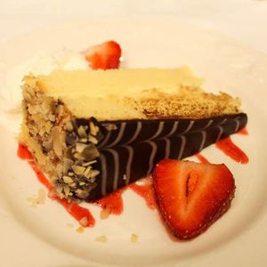 Boston Cream Pie at The Omni Parker House