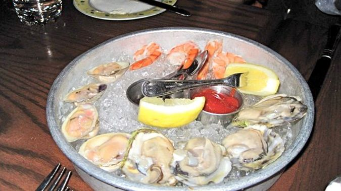 A Selection from the raw bar