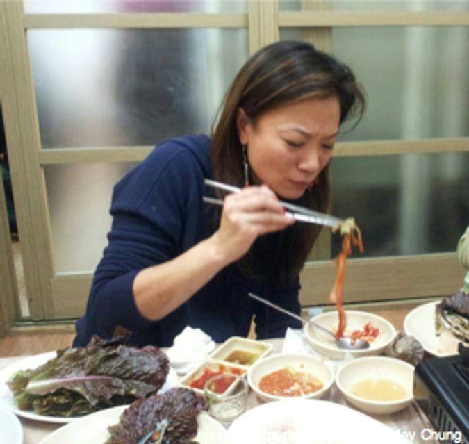 No Ryang Jin Soo San fish market