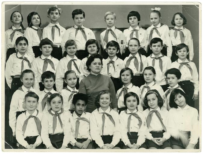 school 110, class 2 B; me top left