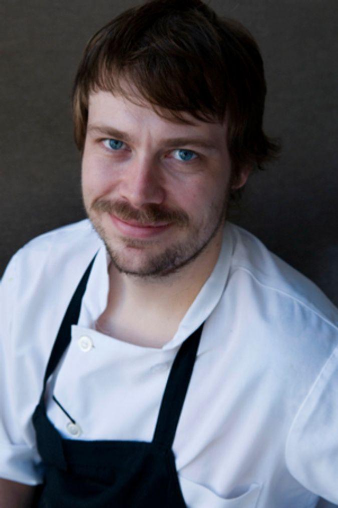 Blackbird Chef de Cuisine David Posey