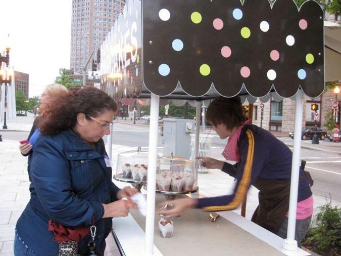 Cupcake Cart