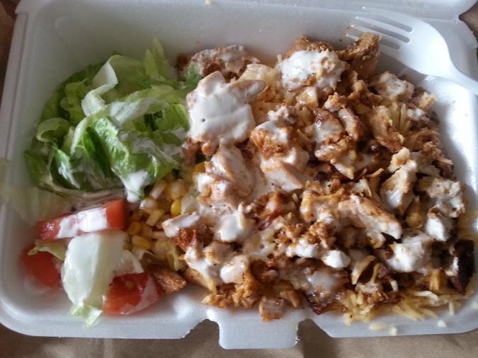 Rafiqi's Chicken Over Rice
