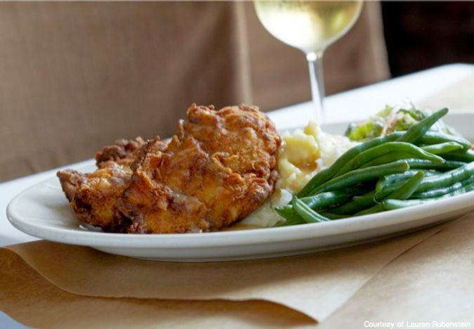 Food 101- fried chicken - CREDIT Lauren Rubenstein