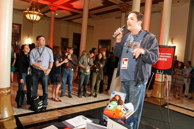 Iron Man 3 Director Shane Black auctioning off items at last year's Film & Food event