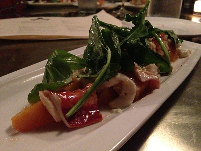 Lobster-beet-salad