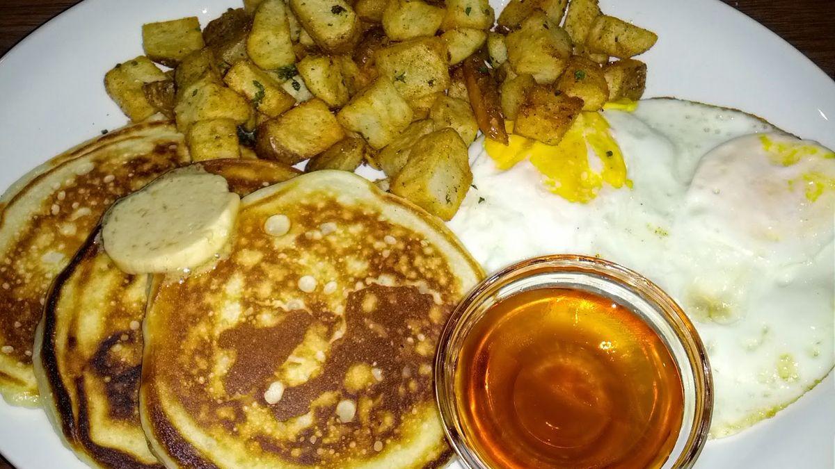 Buttermilk pancakes at Kingston Taphouse