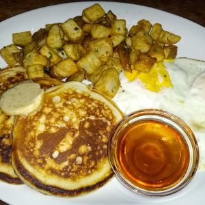 Buttermilk pancakes at Kingston Taphouse