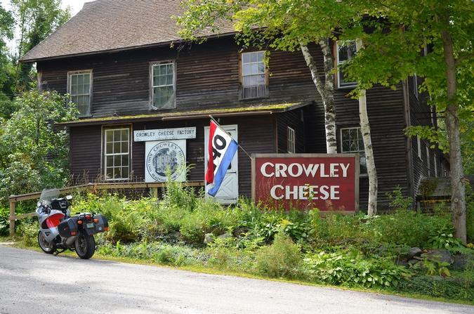 Crowley Cheese factory.