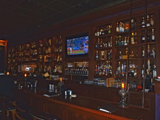 Rumpus Room also has rare whiskeys and bourbons.