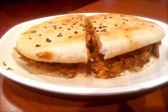 Soy Meat Sandwich