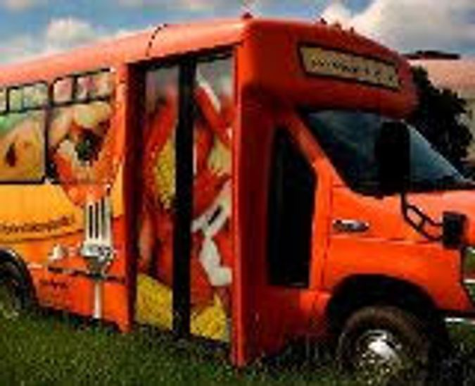 Cajun Food Tours bus