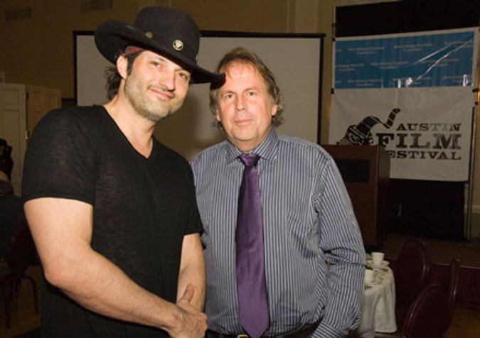 Robert Rodriguez, Austin writer/producer/director, at the 10th Annual Film & Food Party
