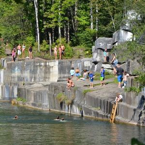 The Norcross Quarry in Dorset is the oldest marble quarry in the U.S.