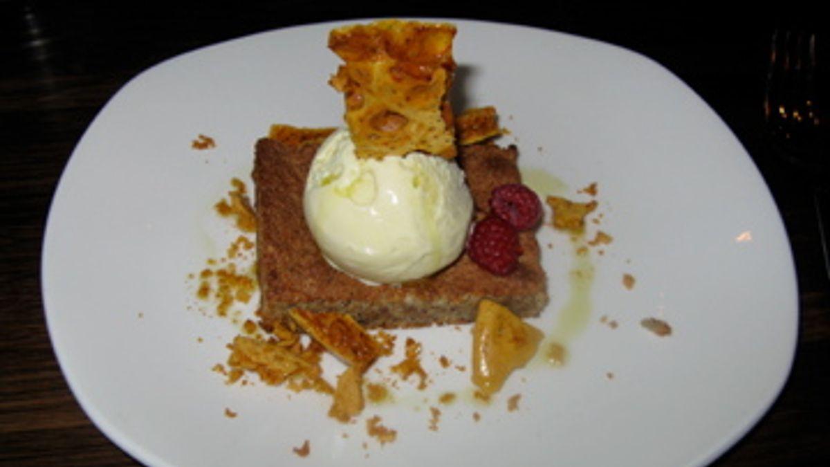 Dessert with Texture