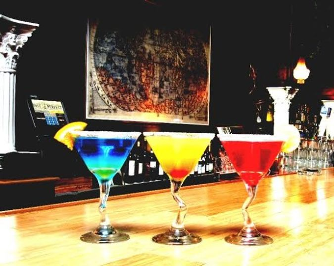 Enjoy a cocktail