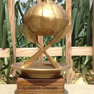 Golden Onion trophy