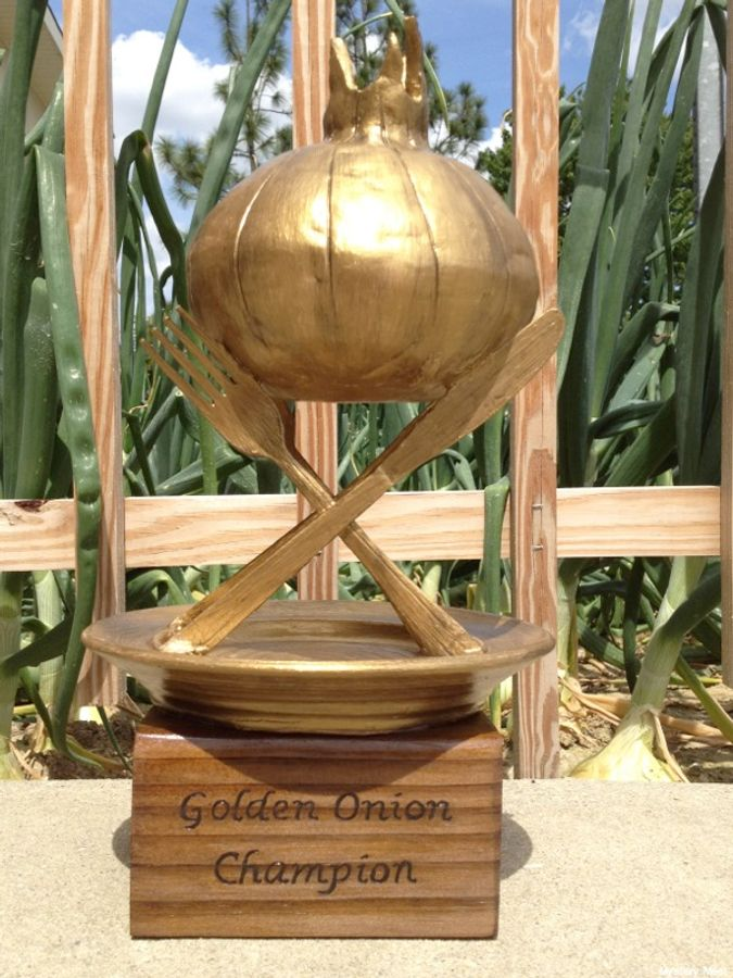 Golden Onion trophy