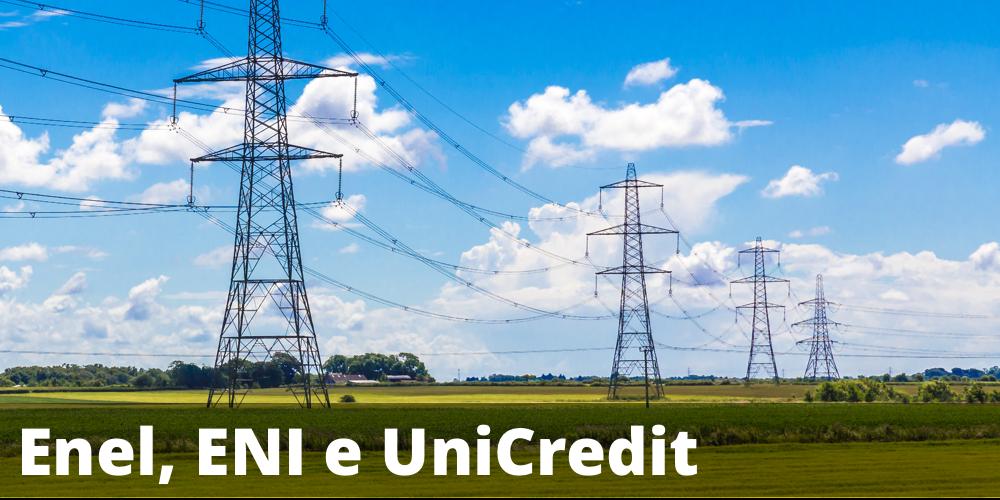Possibile rendimento annuo del 10,24% con il certificate Cash Collect su Enel, ENI e UniCredit