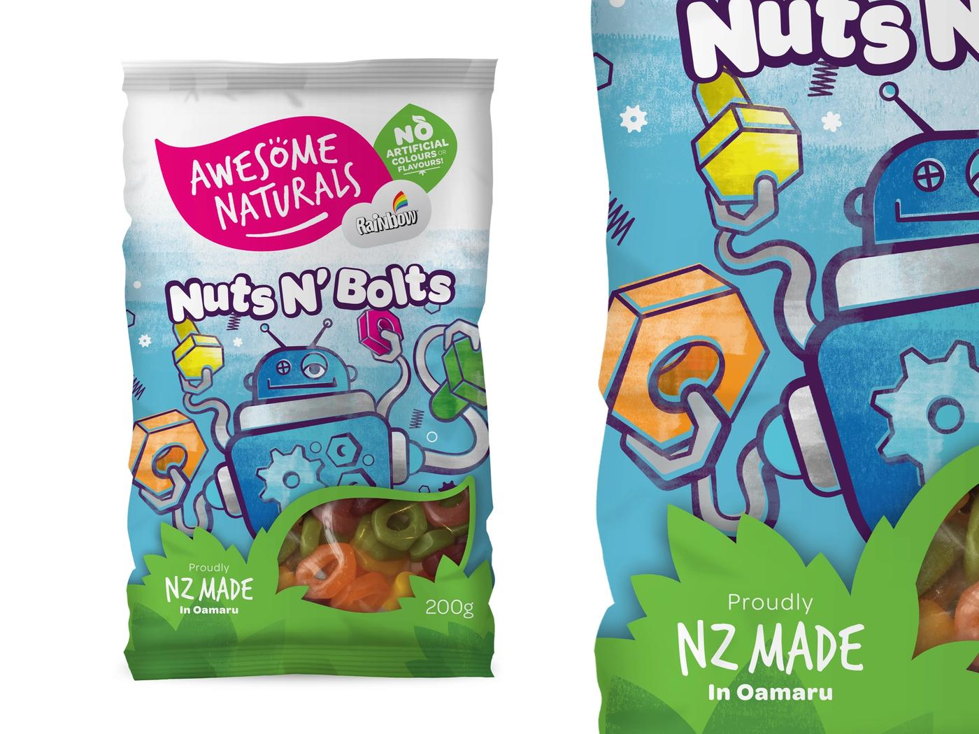 Awesome naturals nuts & bolts