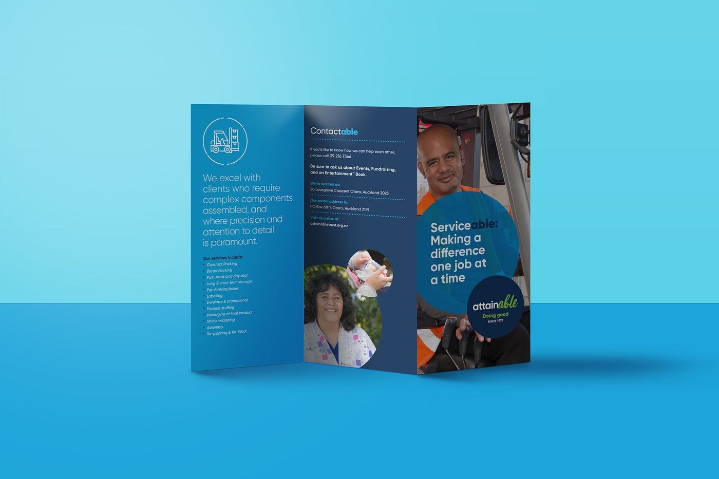 The Good Purpose Factory brochure
