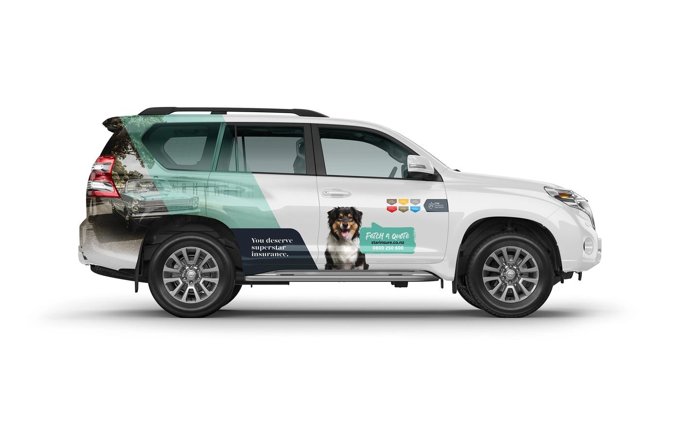Star Insurance Specialists Mitsubishi Prado