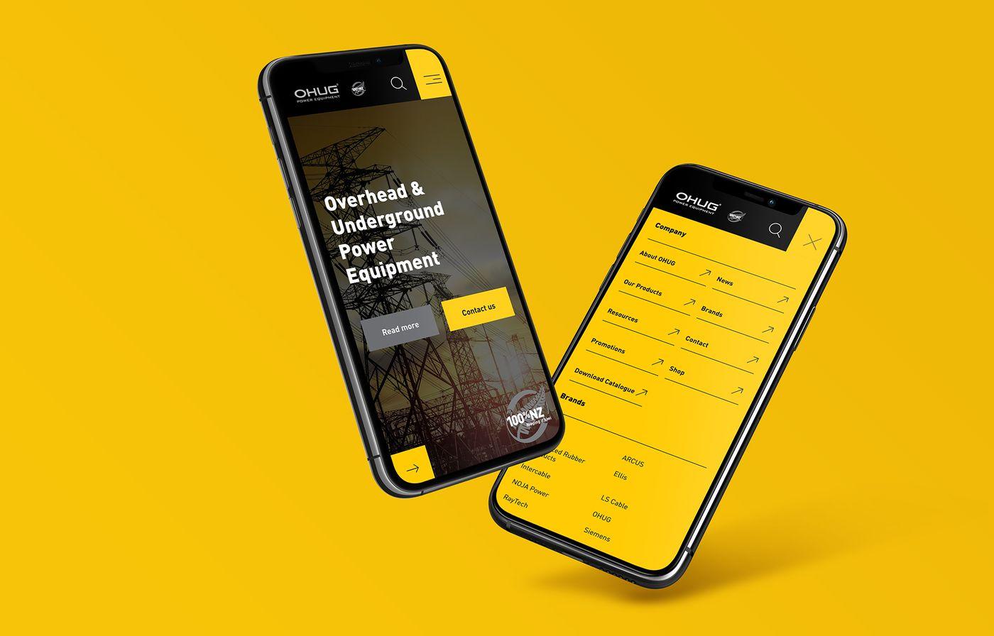 Ohug Website Mobile