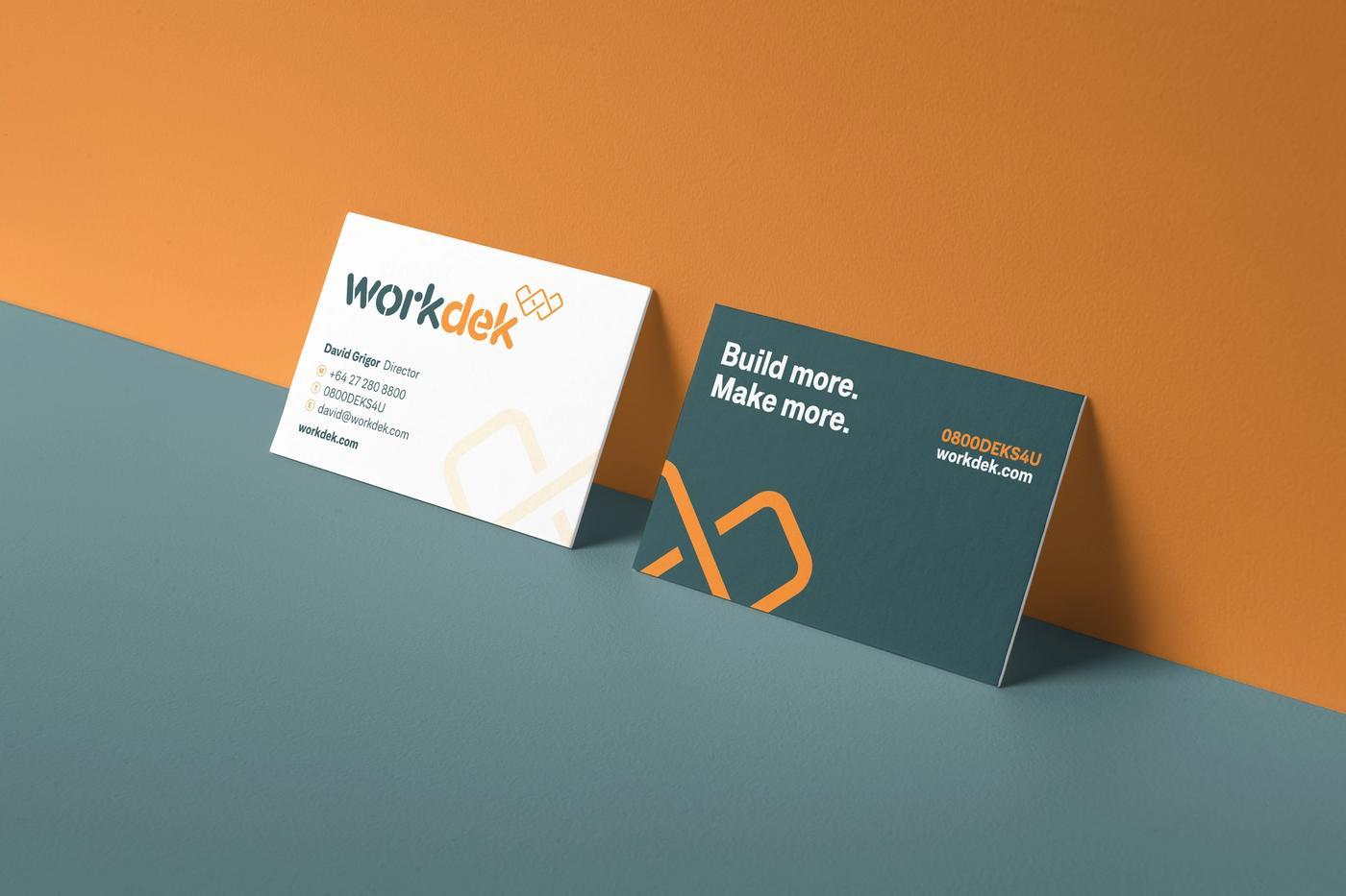 Workdek business cards