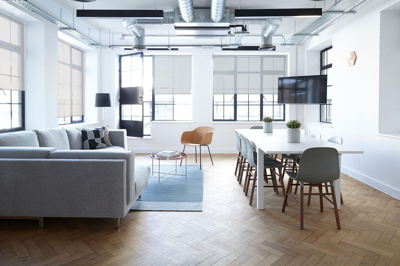 Modern studio apartment