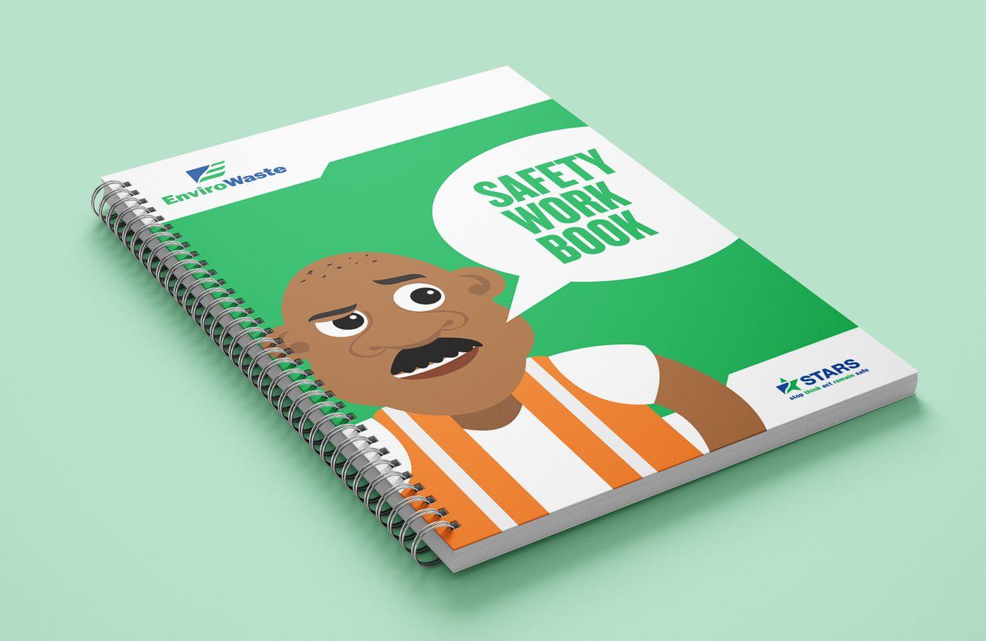 EnviroWaste Saftey Work Book Cover
