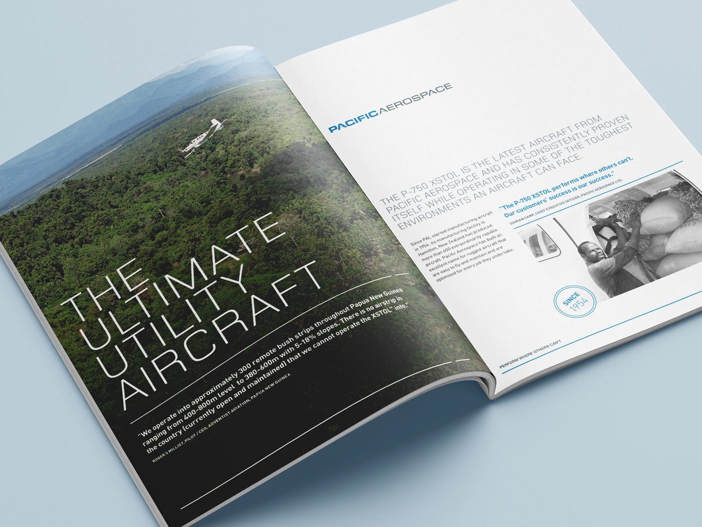 Pacific Aerospace profile document open