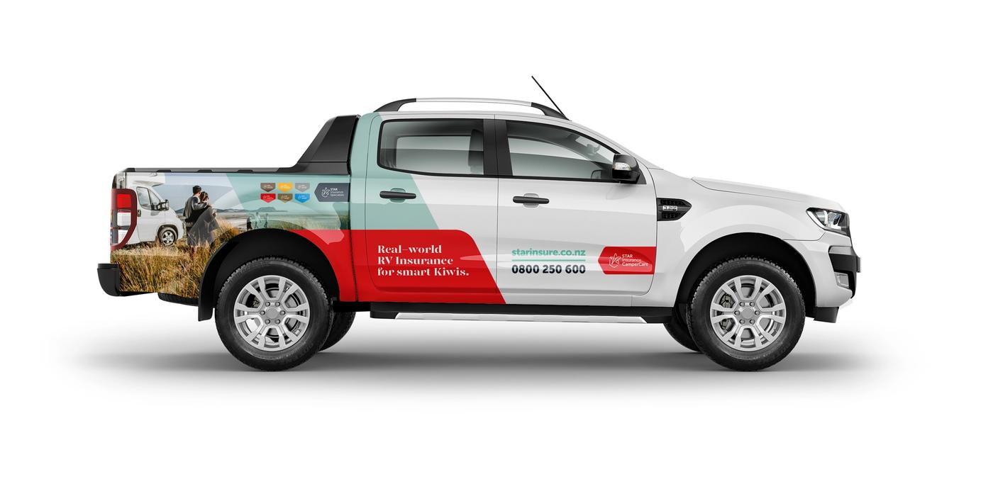 Star Insurance Specialists CamperCare Ford Ranger