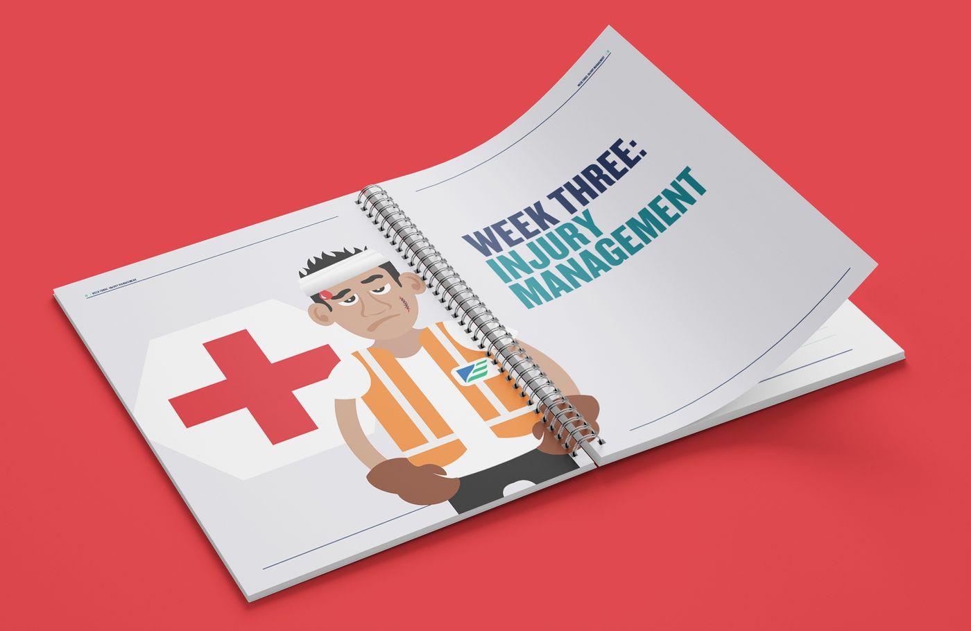 EnviroWaste Saftey Work Book Injury