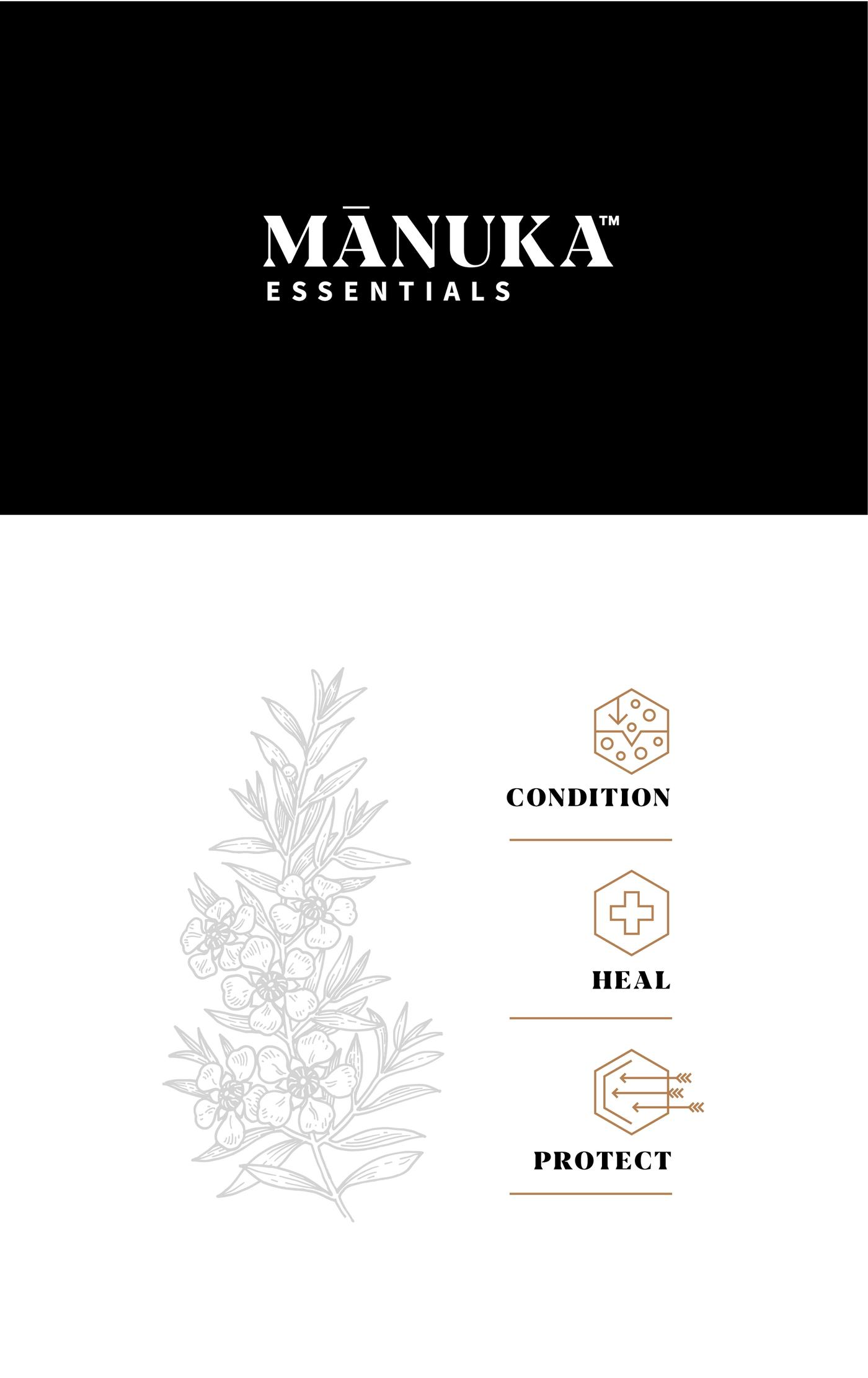 Manuka essentials identity