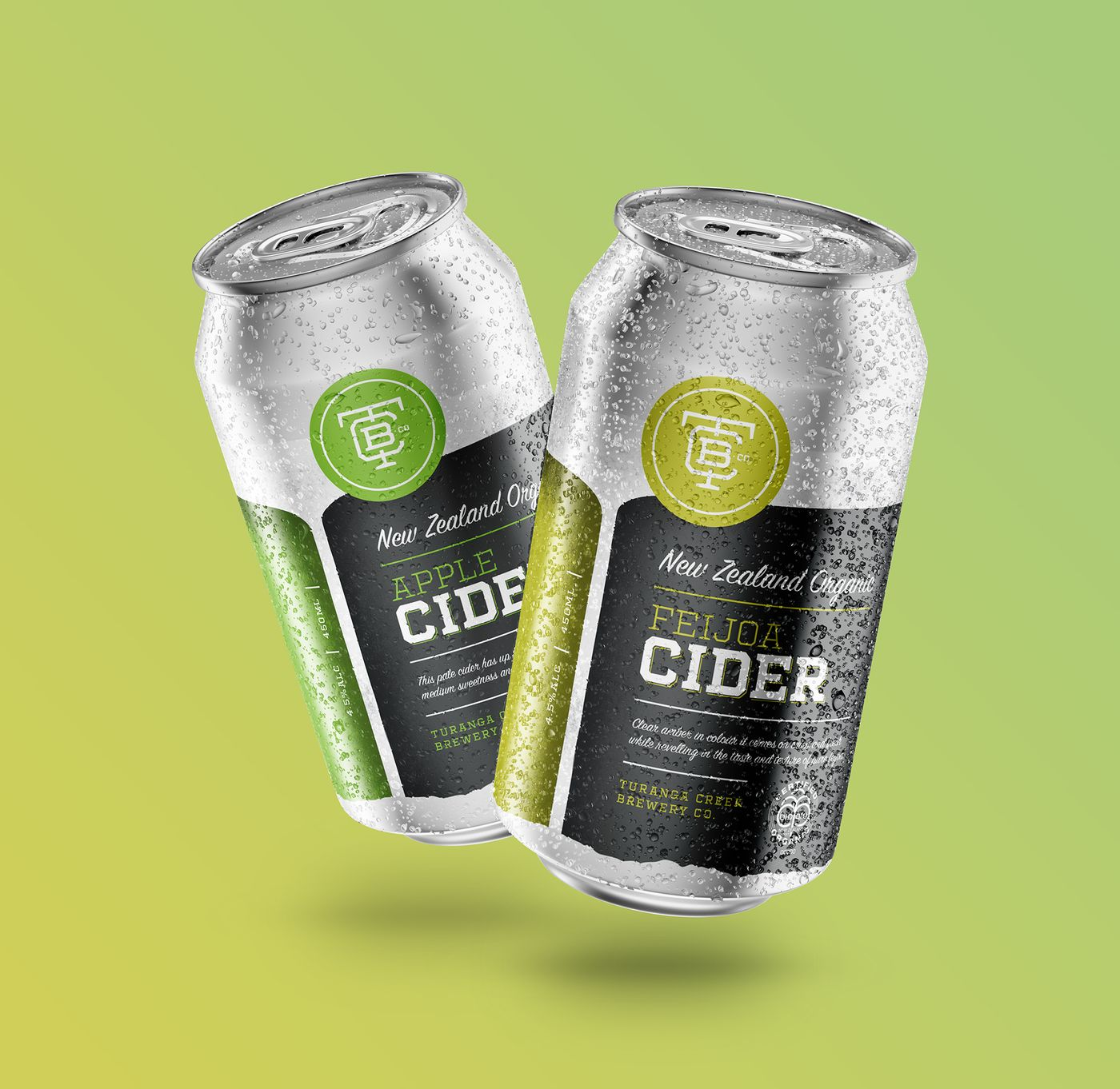 Turanga Cider Cans Apple and Feijoa