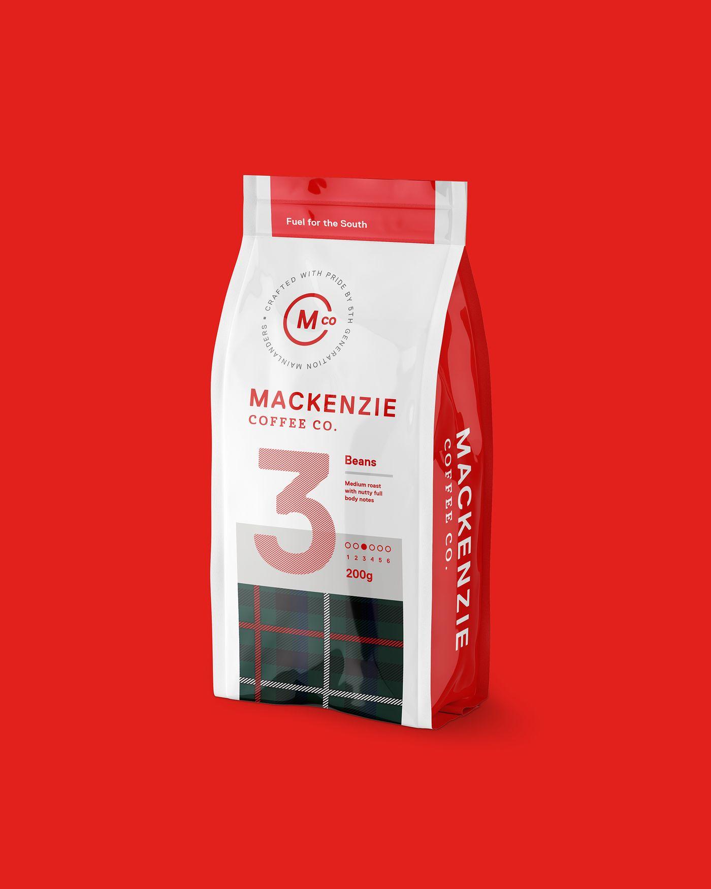 Mackenzie Coffee Co 200g Retail Pack 3