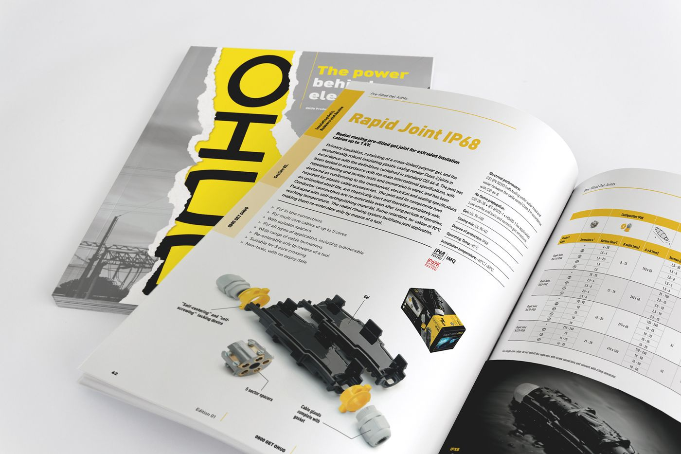 OHUG Product Catalogue rapid joint diagram