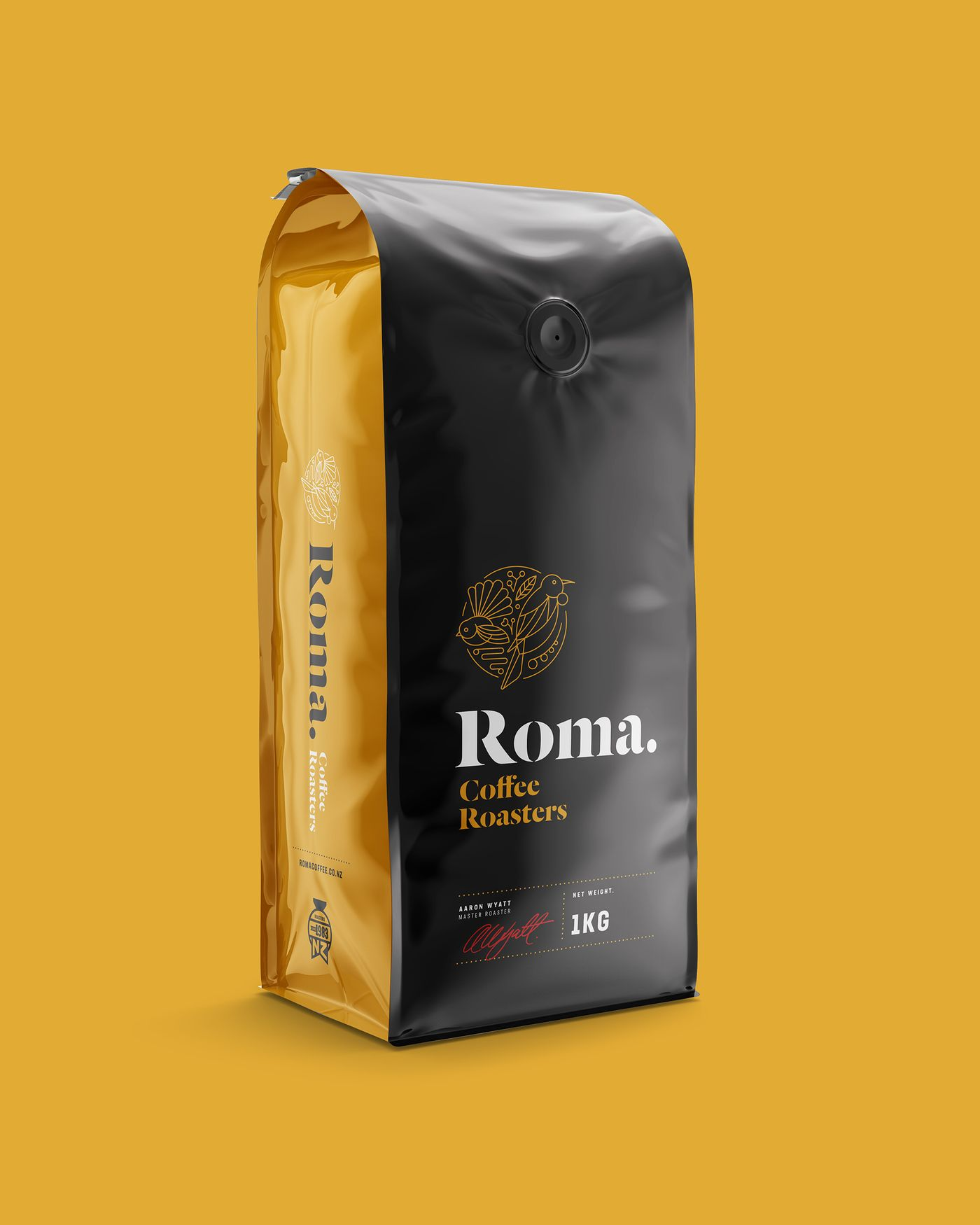 Roma Coffee Roasters 1kg bag