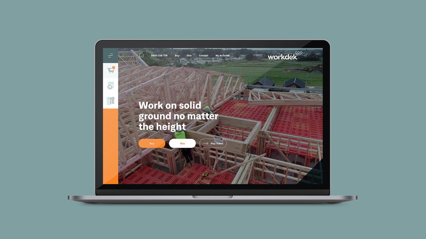 Workdek laptop website