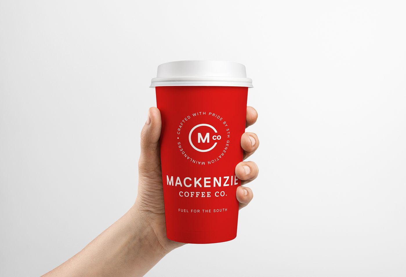 Mackenzie Coffee Co Cup Large