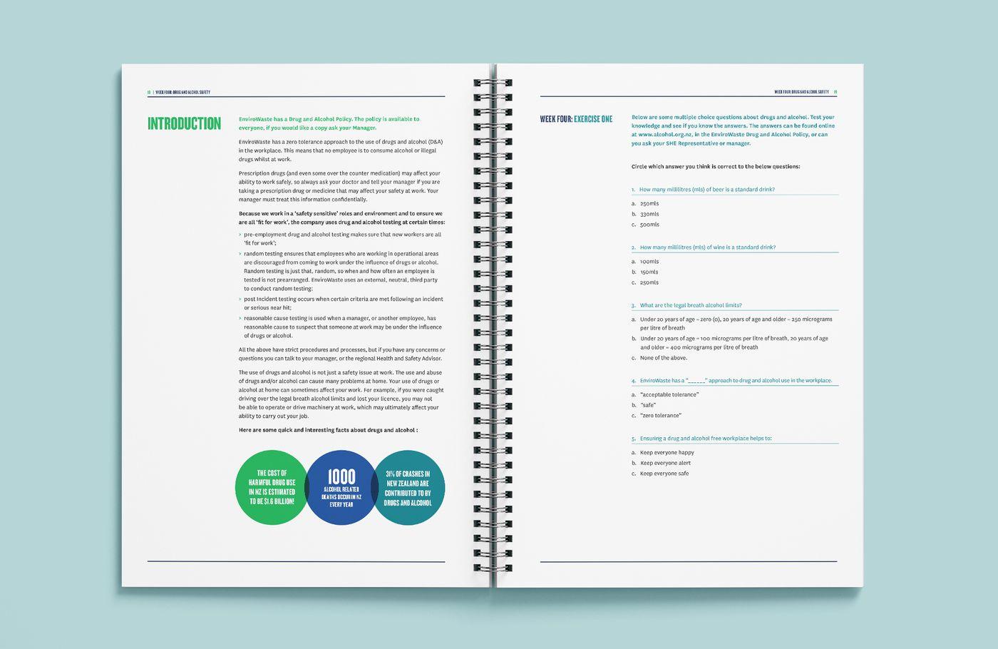 EnviroWaste Saftey Work Book Intro