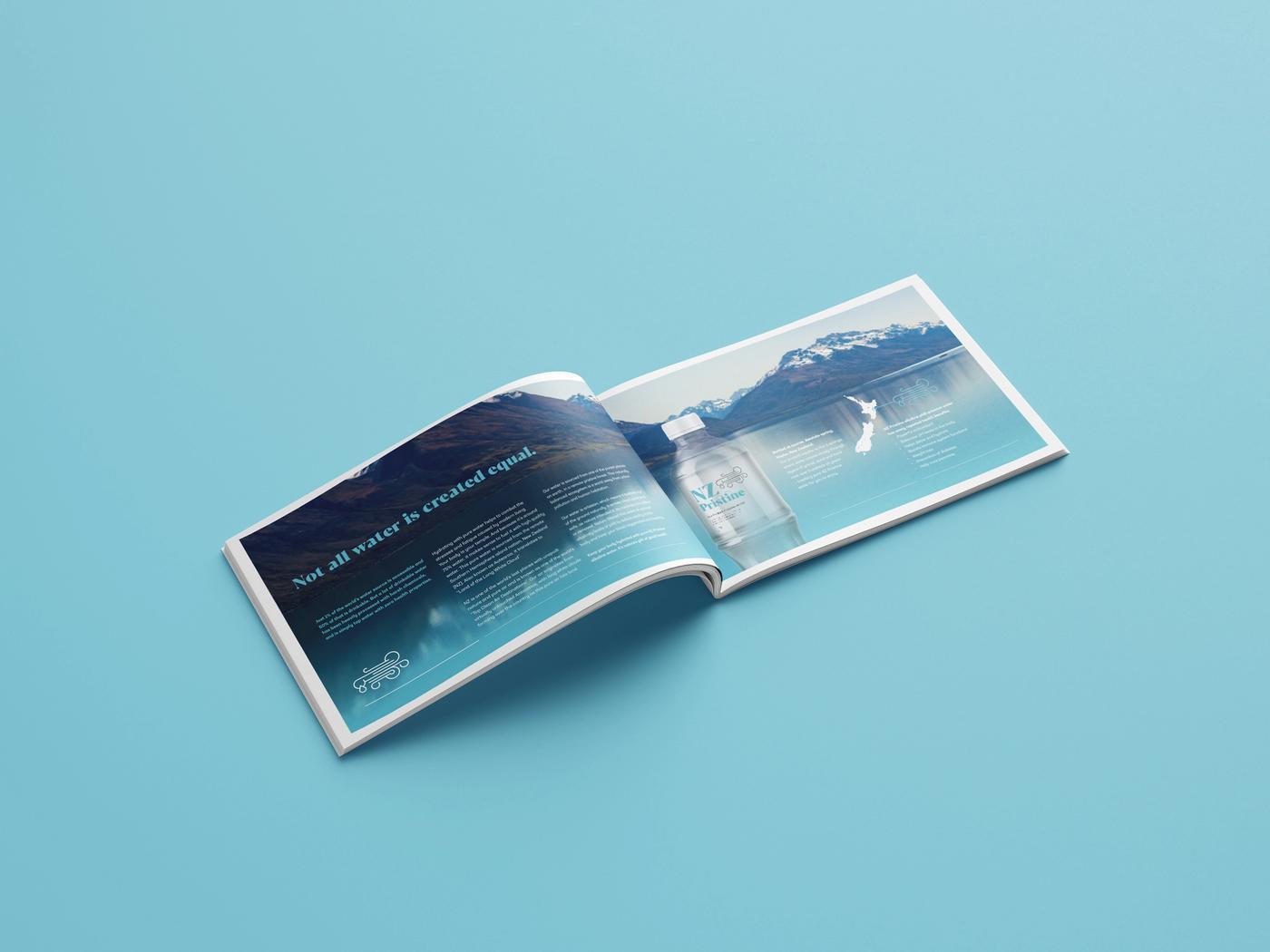 NZ Pristine Brochure Open