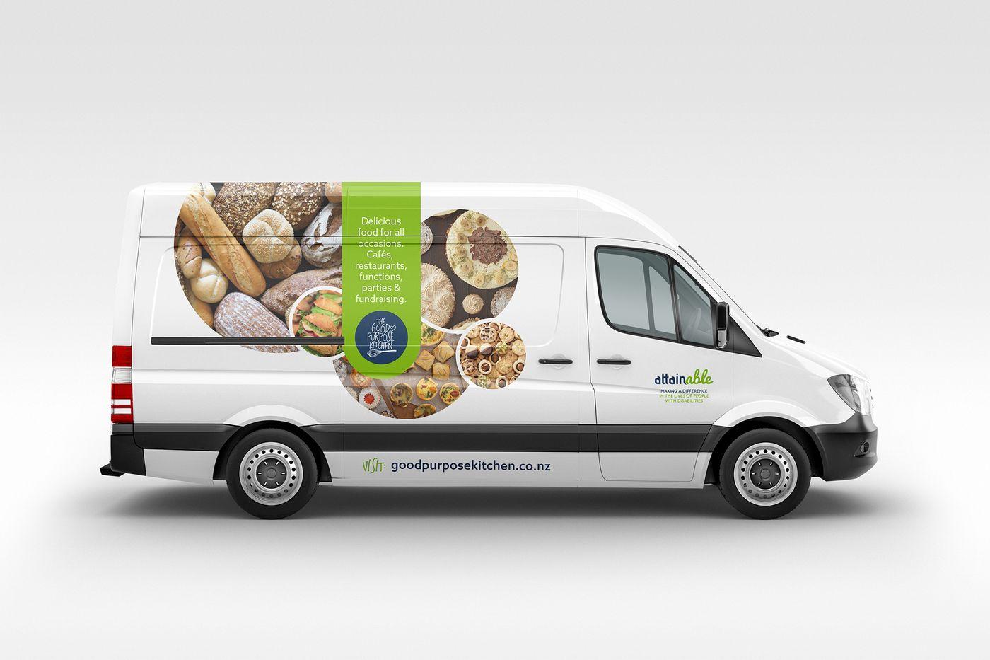 Attainable Kitchen Van