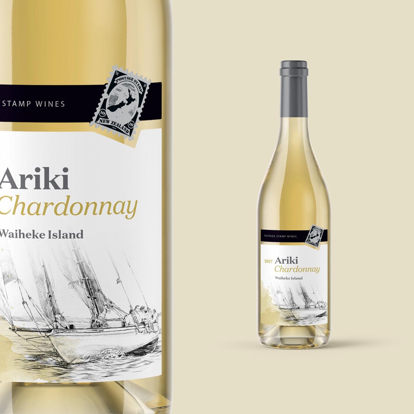 Postage stamp wines chardonnay