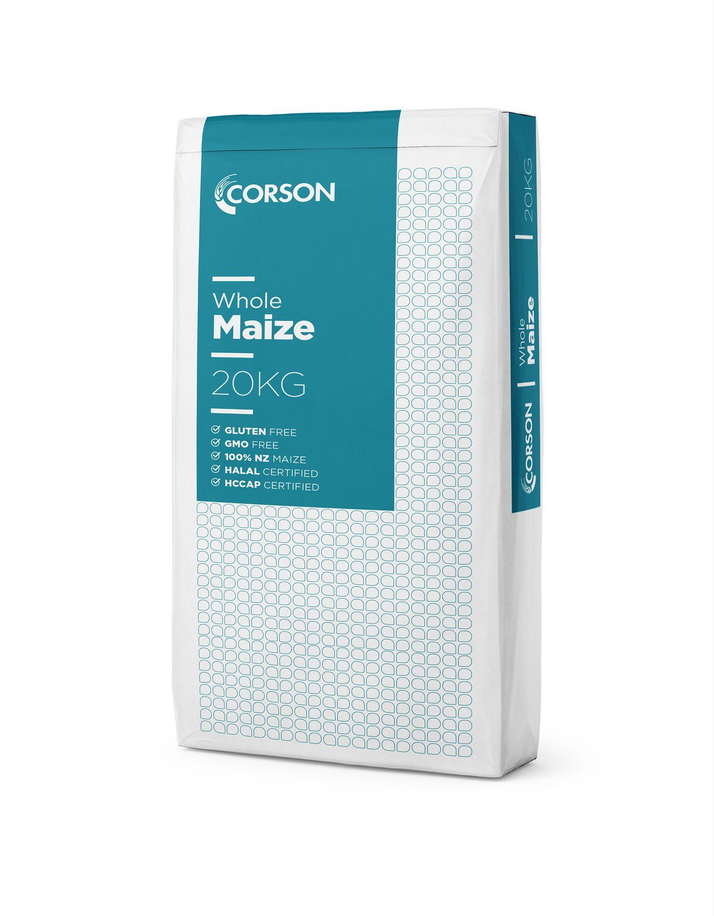 Corson Whole Maize 20kg bag