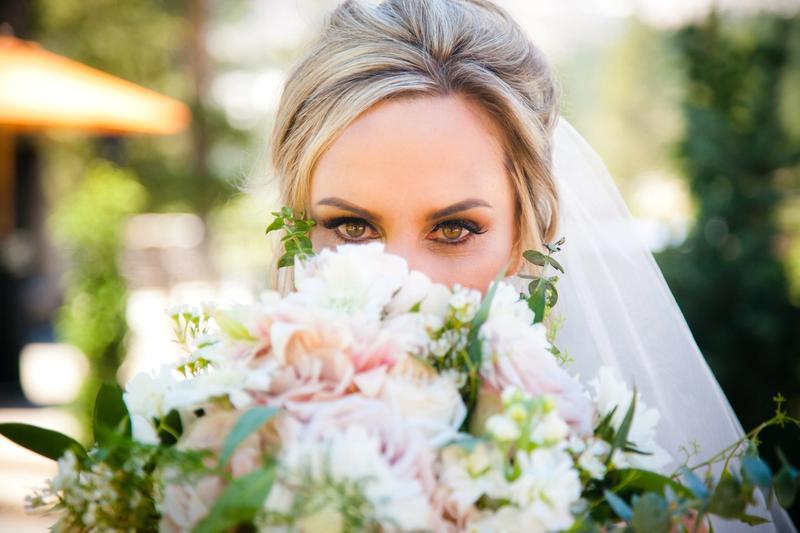 Bride eyes