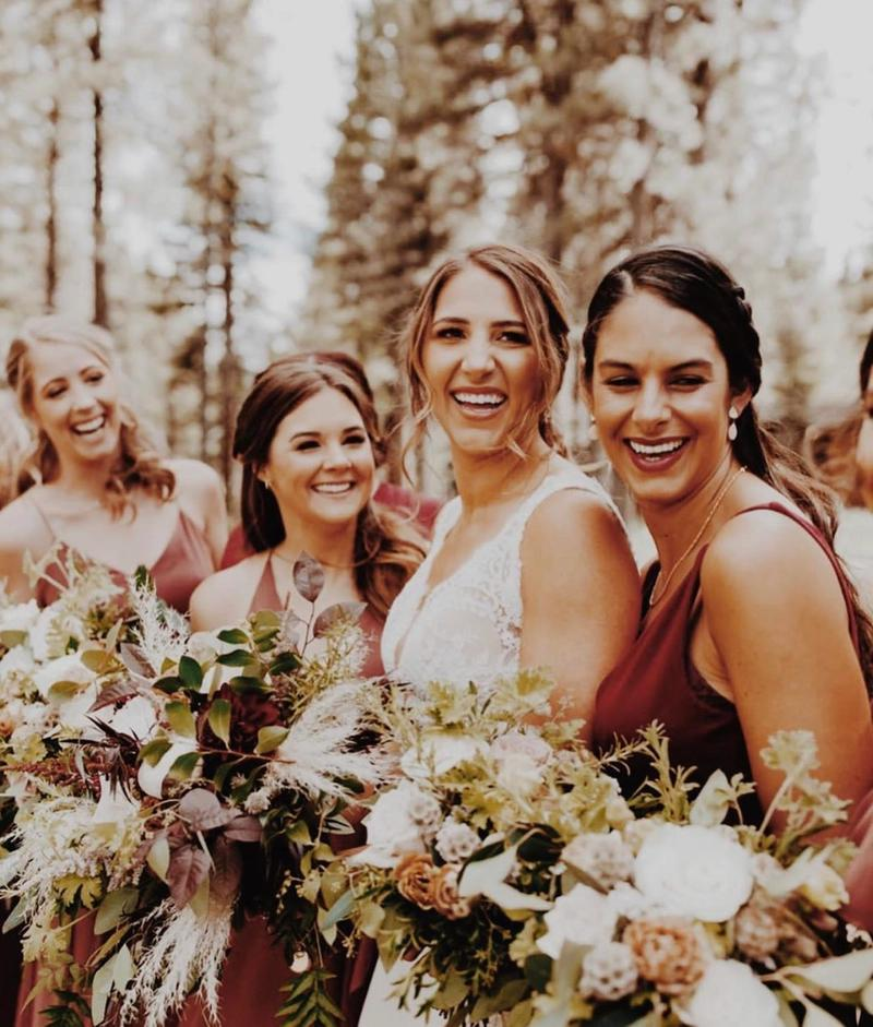 Bride Sepia