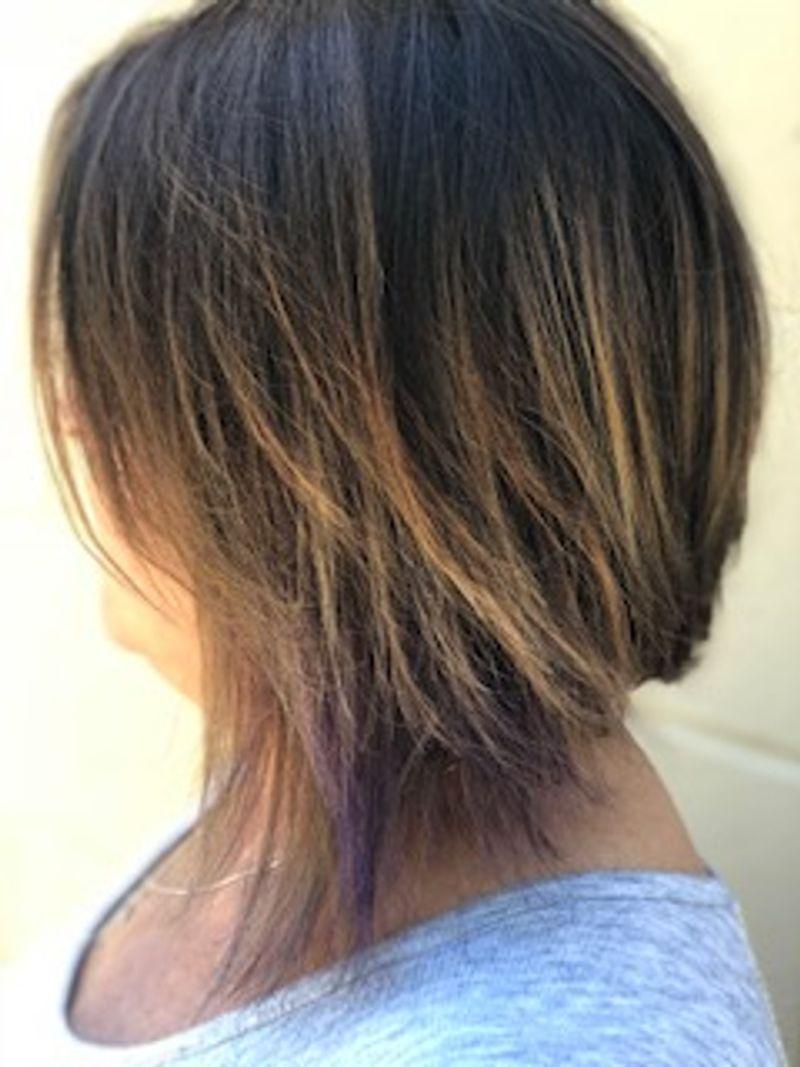 Short hair brunette