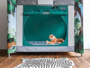 Jungle themed complex care pod door open